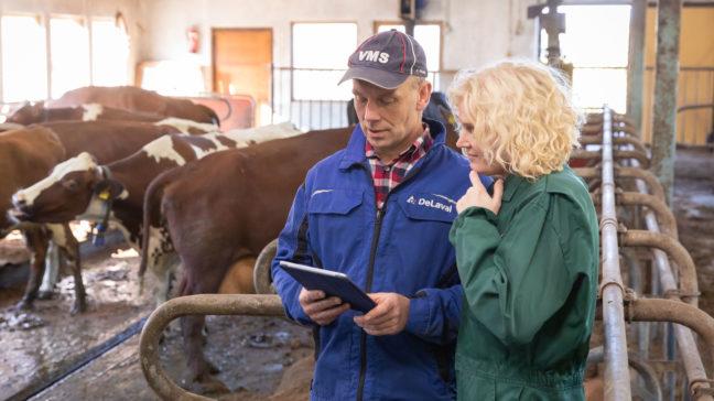Med Redigerbara rapporter –modulen kan du skapa och spara nya rapporter för din egen gårds behov.