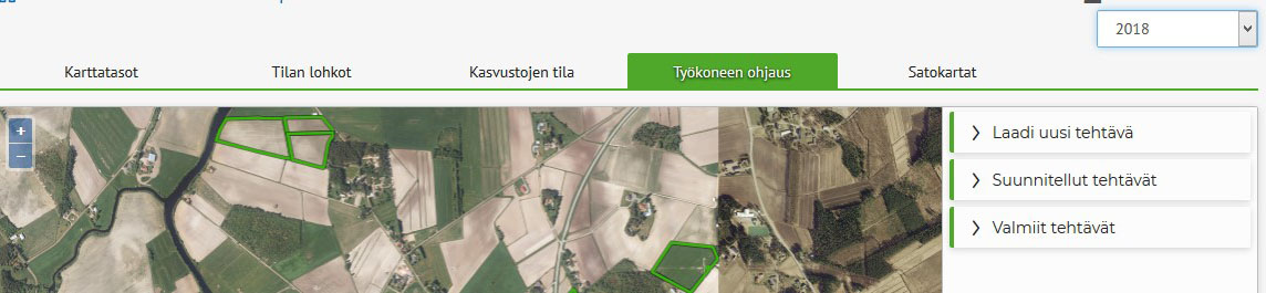 Smart Farming -työkalut Wisussa