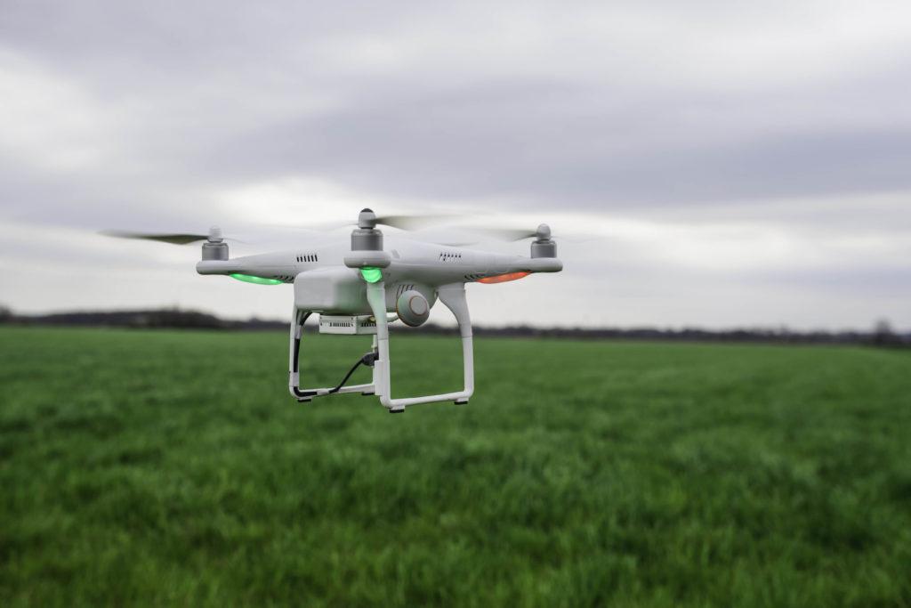 Dronella pääsee lähelle kasvustoa