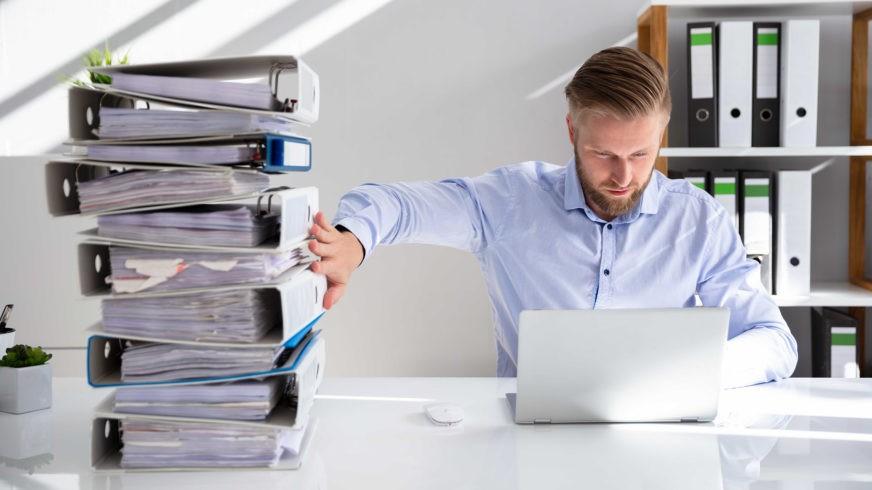 Dokumenttipankkiin tallennat kätevästi tilasi asiakirjat.